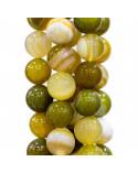 Cabochon Gocce Sfaccettato 20x30mm 1pz - New Jade