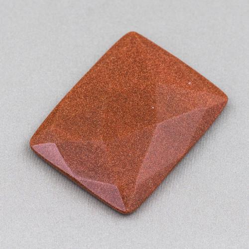 Pietra Lavica Placcato Rutenio 10mm