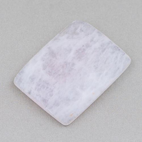 Pietra Lavica Placcato Rutenio 6mm
