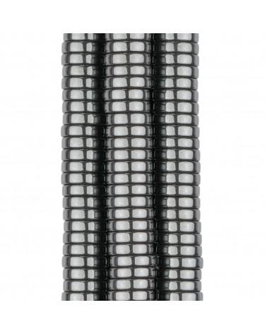 Orecchini Perno Chiuso Di Argento 925 Con Perle Di Maiorca e Zirconi 17x40mm