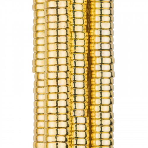 Orecchini Perno Cerchietto Di Argento 925 Con Perle Di Maiorca e Zirconi 17x43mm