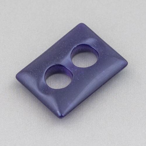 Catena Rosario Con Cristalli Cilindro e Ottone 2,5mm 10mt Nero