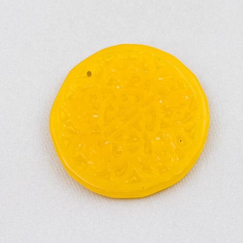 Catena Rosario Con Cristalli Cilindro e Ottone 2,5mm 10mt Verde AB
