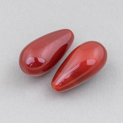 Chiusura Di Argento 925 Con Zirconi Micropave Tondo Forato Ondulato 33x18mm 3pz Oro Rosa