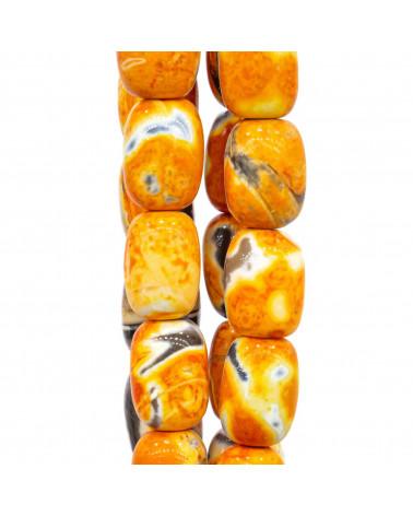 Cabochon Quadrato Sfaccettato 25mm 1pz - Occhio di Tigre