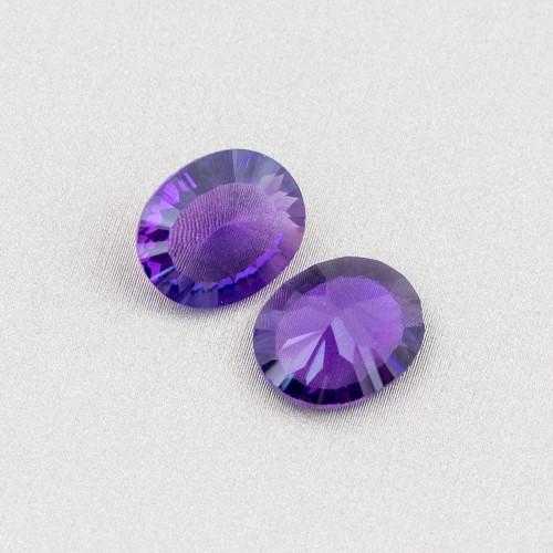 Agata Oceanica Viola Tondo 10mm