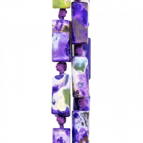 Cabochon Quadrato Sfaccettato 30mm 1pz - New Jade