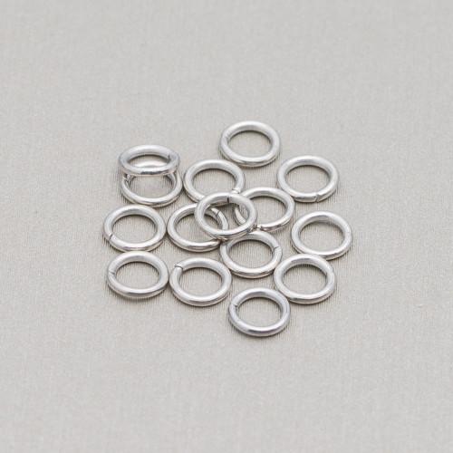 Perle di Fiume Potato Lucido5,0-5,5mm Bianco