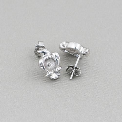 Perle Di Fiume Tondo 4,0-4,5mm AA- Bianco