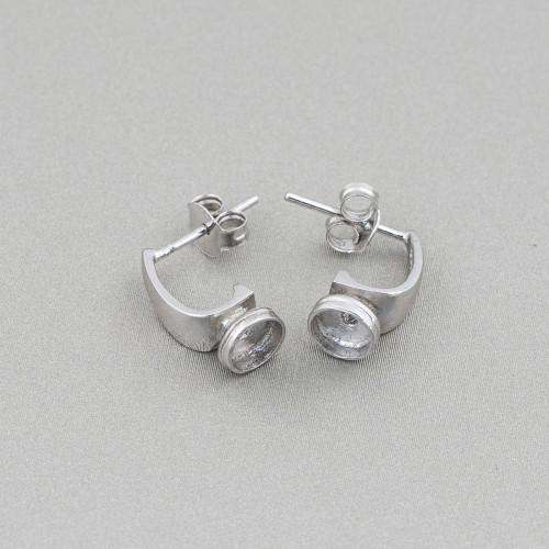 Perle Di Fiume Tondo 4,5-5,0mm AA- Bianco
