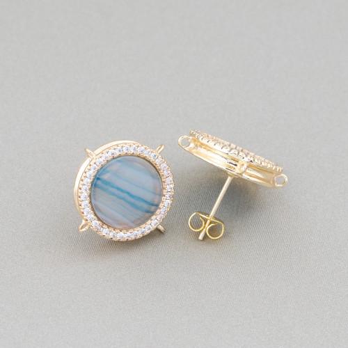 Perle Di Fiume Tondo 5,0-5,5mm AA+ Bianco