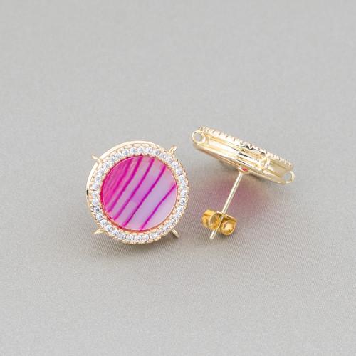 Perle Di Fiume Tondo 5,0-5,5mm AA+ Grigio