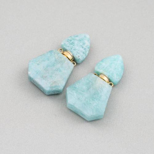 Perle di Fiume Tondo 5,0-5,5mm Lungo AA Lilla