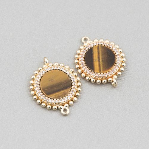 Orecchini Di Argento 925 E Perle Di Fiume 7,0-7,5mm 12 Paio Grigio