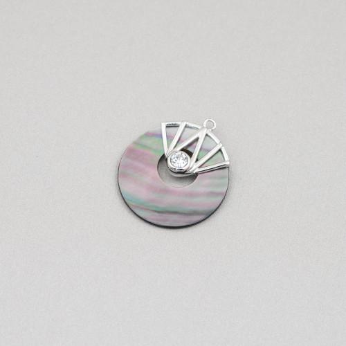 Acquamarina Berilli Morganite Multicolor Grezzo Tondo Liscio 12mm