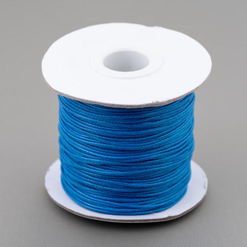 Orecchini Di Bronzo A Perno Con Pietre Incastonate E Zirconi 24x32mm Turchese Blu