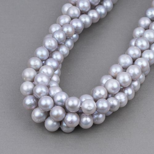 Perle Di Fiume Tondo 10,0-10,5mm AAAAA Lilla
