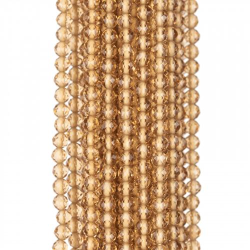 Perle di Fiume Tondo 6,5-7,0mm AAA Bianco