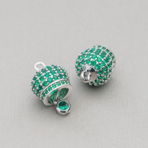 Perle Di Fiume Tondo 9,5-10,0mm AAAA+ Bianco