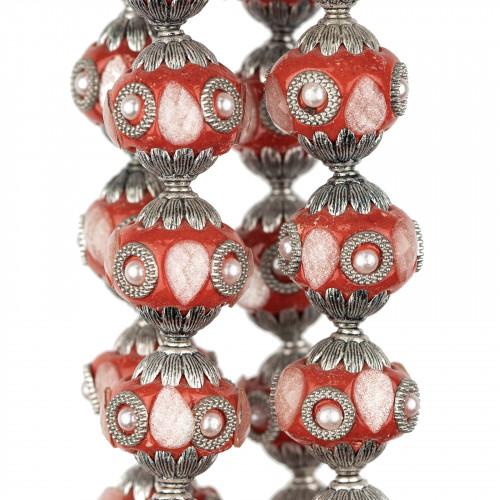 Perle Di Fiume Tondo 4,0-4,5mm AAAA Bianco