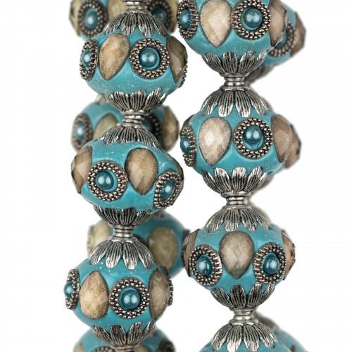 Perle Di Fiume Tondo 4,0-4,5mm AAAA- Bianco