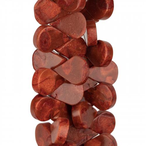 Corniola Multicolor Sfaccettato 10mm