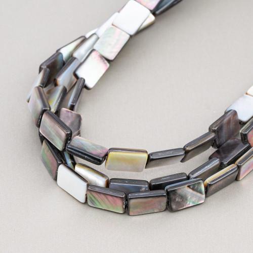 Aulite Bianco Tondo Liscio 14mm