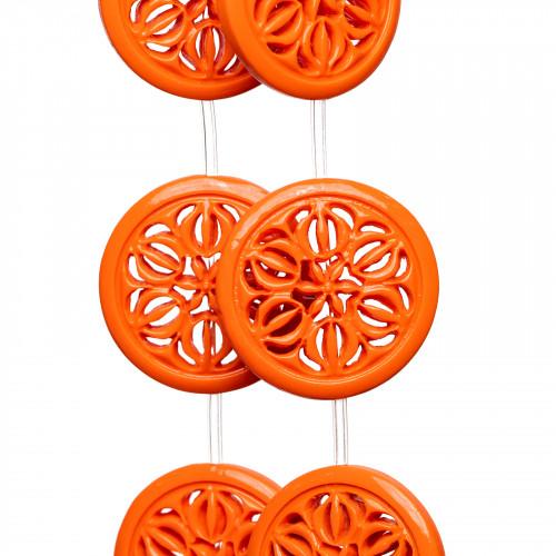 Corniola Rossa Sfaccettato 03mm Arancio
