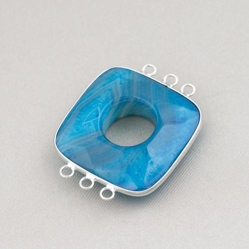 Perle Di Fiume Barocche Piatte (YHG) Lilla 90-100gr