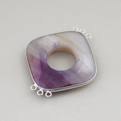 Perle Di Fiume Barocche Piatte (YJG) Rosa 80-90gr