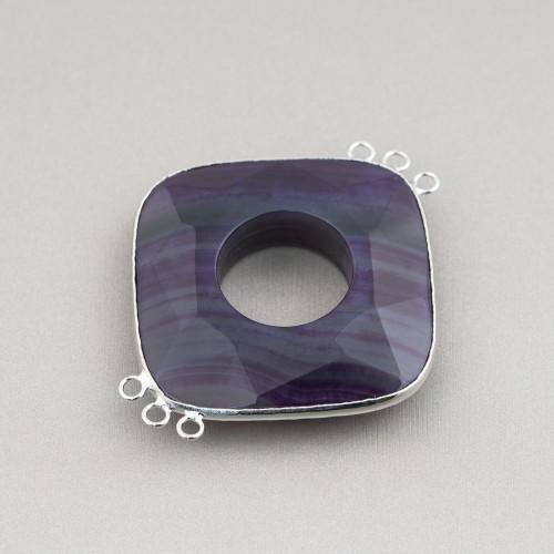 Perle Di Fiume Barocche Piatte (YQG) Bianco 60-70gr