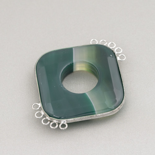 Perle Di Fiume Barocche Piatte (YQG) Lilla 80-90gr