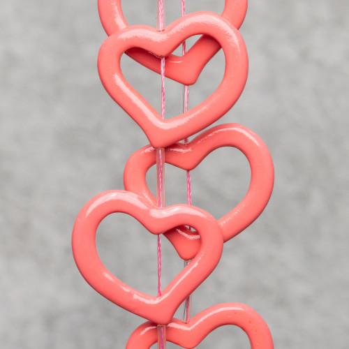 Chiusura Di Argento 925 Gancio Con Coppetta A Pallina 05mm 10pz Oro Rosa