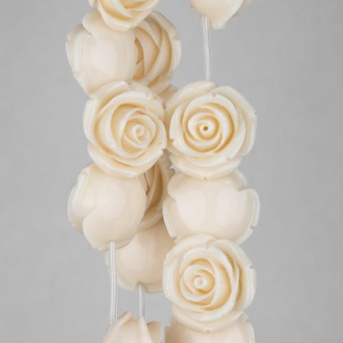 Pendente Di Argento 925 Con Perle Di Maiorca Bianca E Zircone Nero 12x24mm