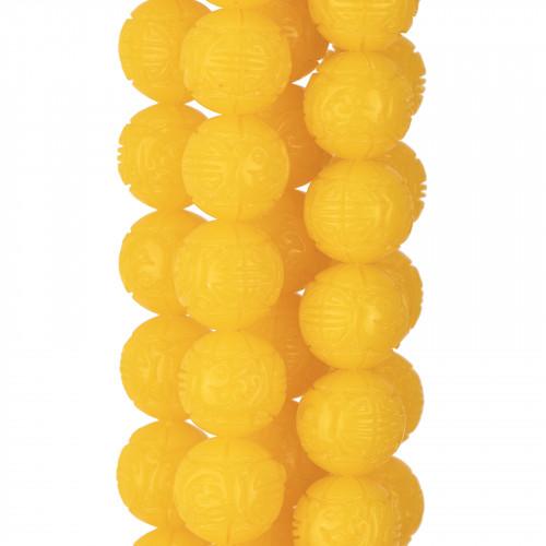 Ciondolo Pendente Di Argento 925 Con Perle Di Maiorca 10x40mm