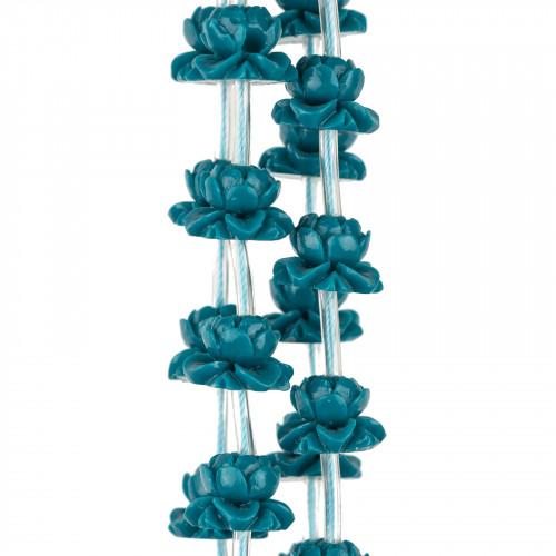 Collana Di Cristalli A Grappoli 56cm MOD2 Verde