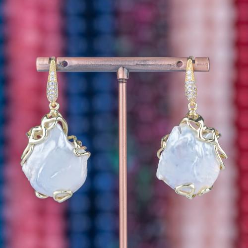 Collana Di Cristalli A Grappoli 70cm MOD7