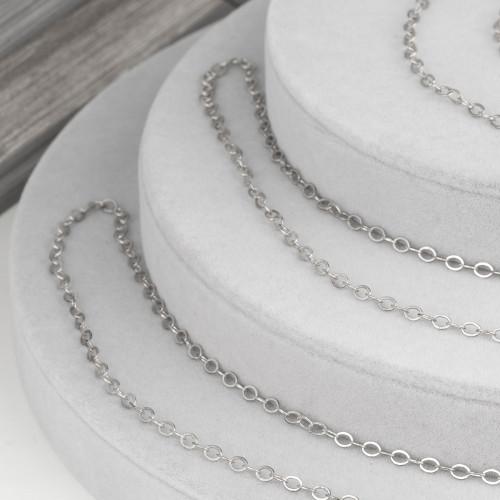 Collana Bijoux Con Perle E Ematite Sfaccettato 77cm