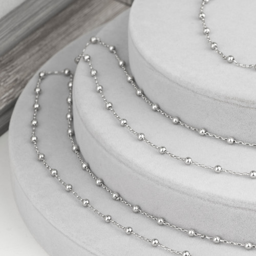 Collana Bijoux Con Pietre Cristalli Marcasite e Ematite 88cm Viola