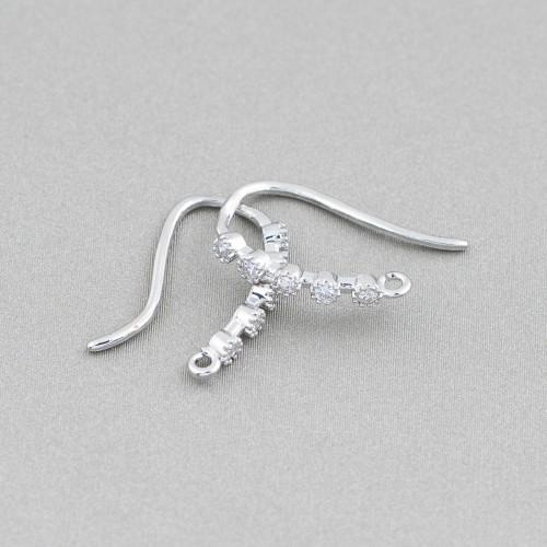 Collana Di Cristalli E Perle Di Fiume 5 Fili 80cm