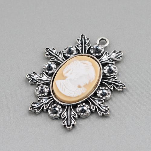 Collana Di Pietre Dure E Cristalli Cz 50cm MOD3
