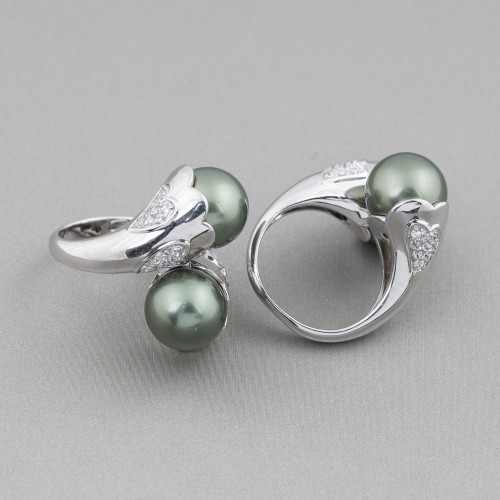 Collana Bijoux Con Perle Di Fiume, Cristalli, Pietre Dure A 5 File 98cm MOD2