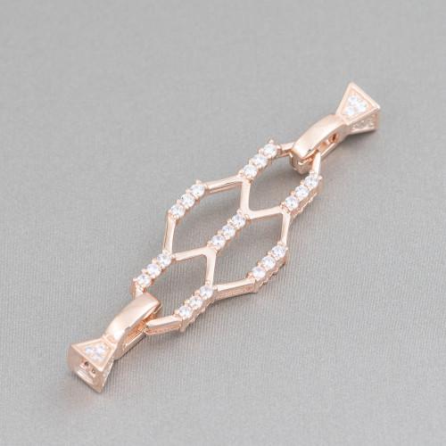Collana Di Pietre Dure A Goccia E Sfere Con Perle Di Fiume Con Nodini 160cm MOD3