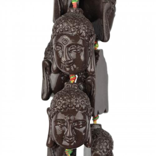Agata Tibetana Sfaccettato 10mm Bianco Rombo