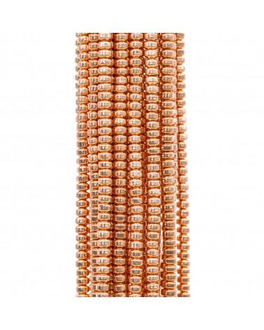 Coppette Di Bronzo Fiori 11x16mm 22pz