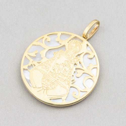 Giada Sabbia Tondo Piatto Liscio Coin 15mm
