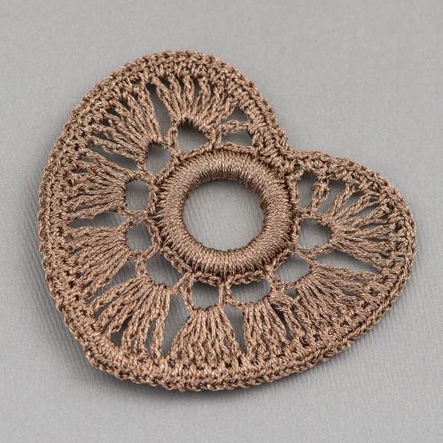 Orecchini A Monachella Chiusa Di Argento 925 Con Perle Di Fiume Barocche Piatte 20-23mmx45-55mm
