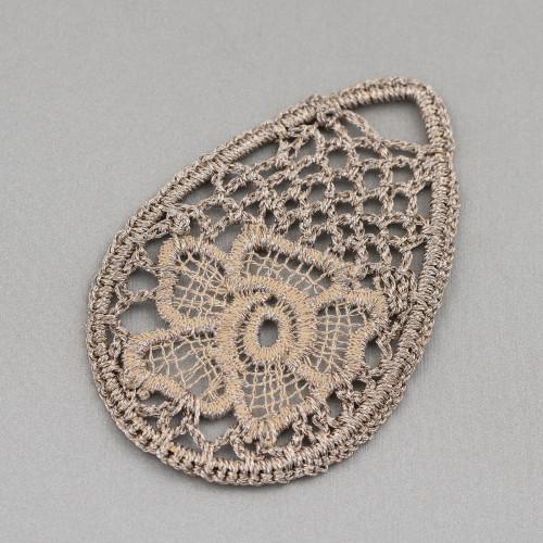 Orecchini A Monachella Di Argento 925 Con Perle Di Fiume Barocche 11-14mmx40-50mm