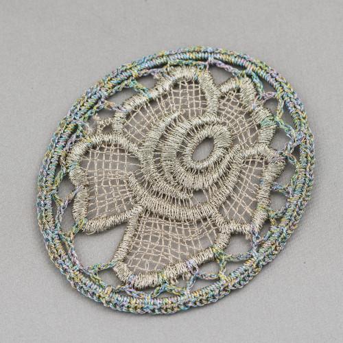 Collana Bijoux Con Pietre Cristalli Perle e Marcasite 96cm MOD4