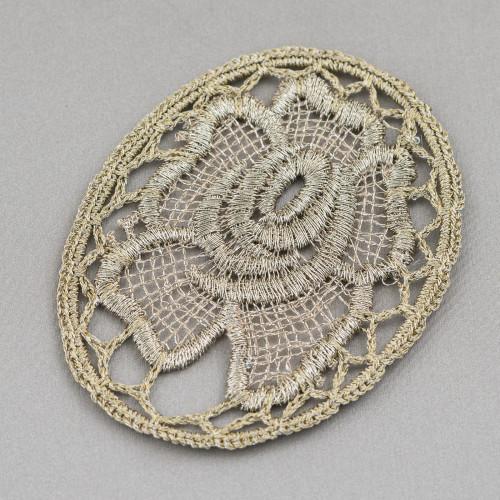 Collana Bijoux Con Pietre Cristalli Perle e Marcasite 96cm MOD5